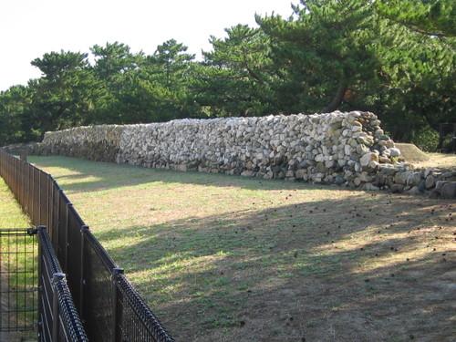 生の松原の防塁